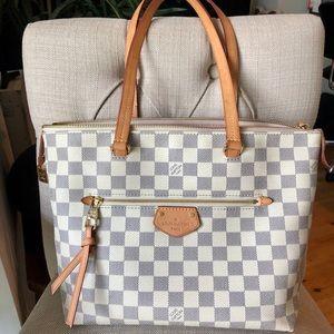 Louis Vuitton Iena Damier Azur PM Bag